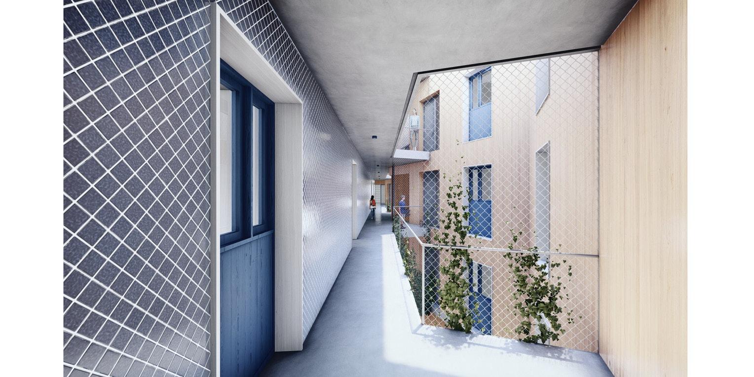 Terrasa housing OCA ARCHITEctS OCA ARQUITECTOS architecture design Hernan Lleida Bernardo Garcia 9