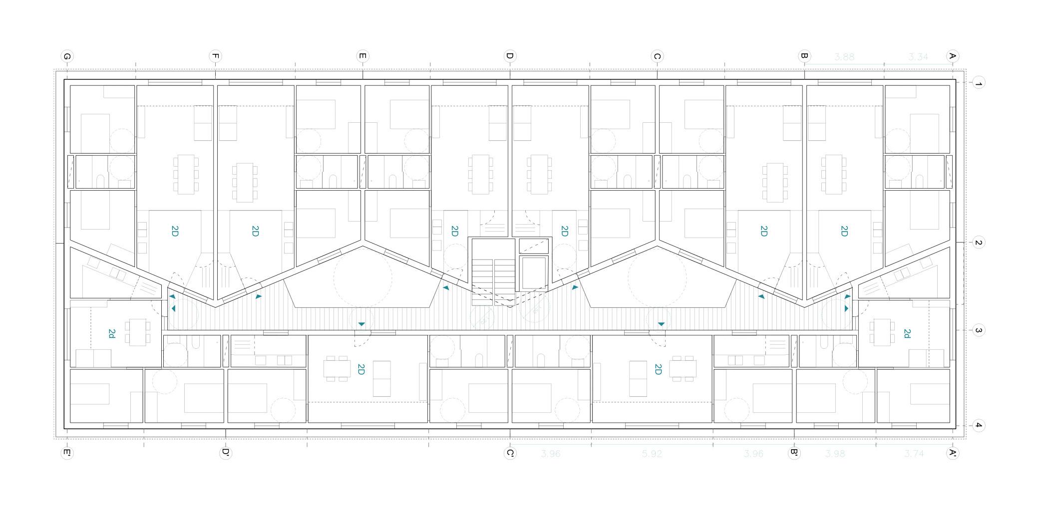 Terrasa housing OCA ARCHITEctS OCA ARQUITECTOS architecture design Hernan Lleida Bernardo Garcia3