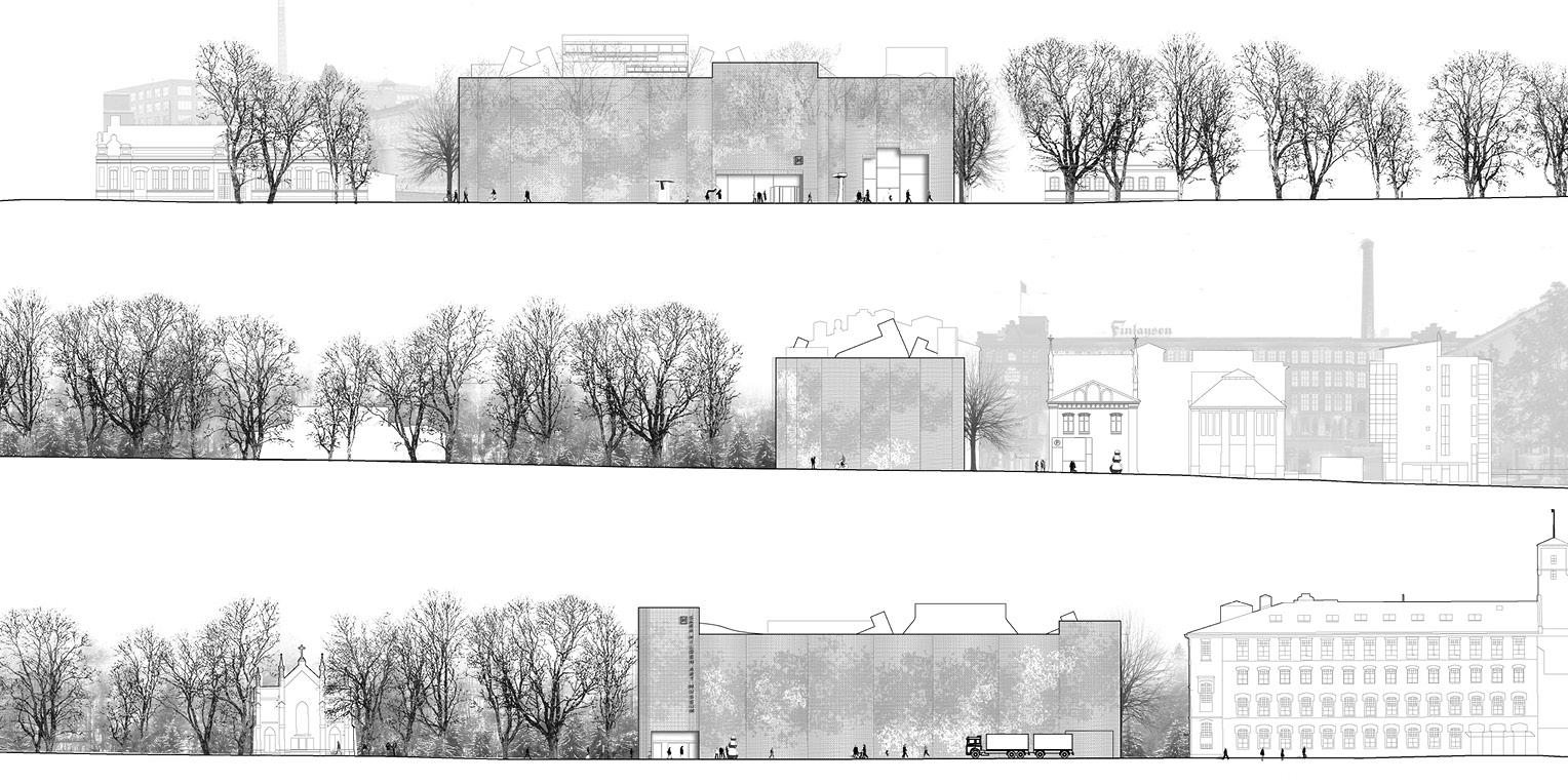 Architectural Competition for the Sara Hildén Art Museum TAMPERE FINLAND taidemuseon arkkitehtuurikilpailu OCA ARCHITECTS Hernnan Lleida Bernardo Garcia11