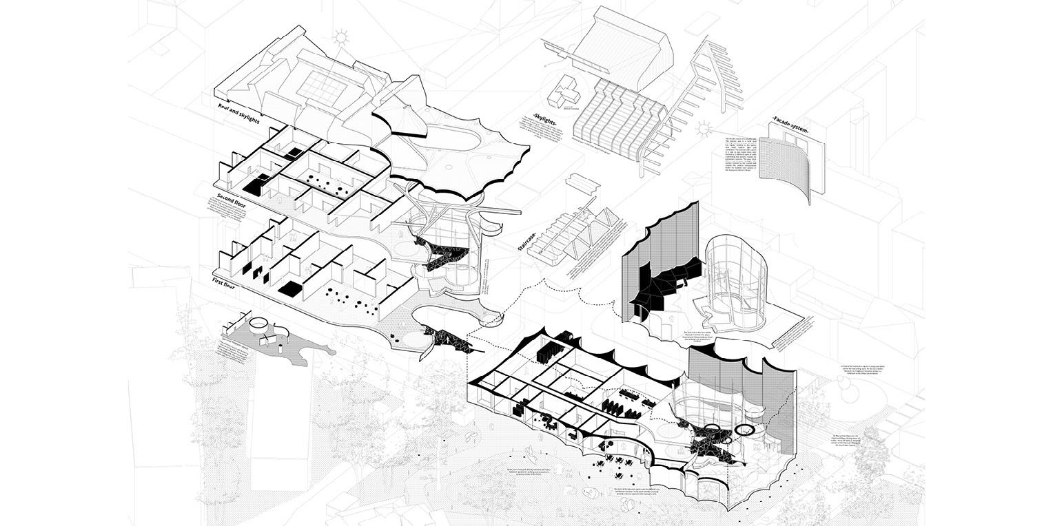 Architectural Competition for the Sara Hildén Art Museum TAMPERE FINLAND taidemuseon arkkitehtuurikilpailu OCA ARCHITECTS Hernnan Lleida Bernardo Garcia14