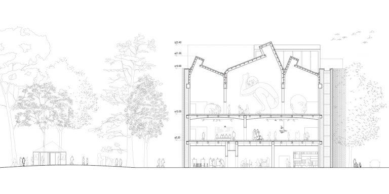 Architectural Competition for the Sara Hildén Art Museum TAMPERE FINLAND taidemuseon arkkitehtuurikilpailu OCA ARCHITECTS Hernnan Lleida Bernardo Garcia18