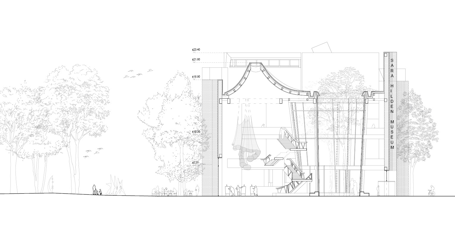 Architectural Competition for the Sara Hildén Art Museum TAMPERE FINLAND taidemuseon arkkitehtuurikilpailu OCA ARCHITECTS Hernnan Lleida Bernardo Garcia19
