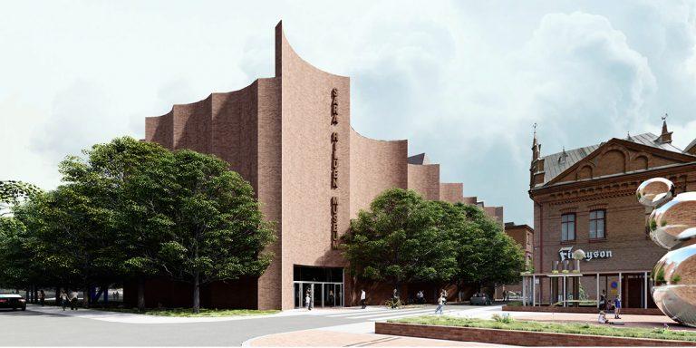 Architectural Competition for the Sara Hildén Art Museum TAMPERE FINLAND taidemuseon arkkitehtuurikilpailu OCA ARCHITECTS Hernnan Lleida Bernardo Garcia2