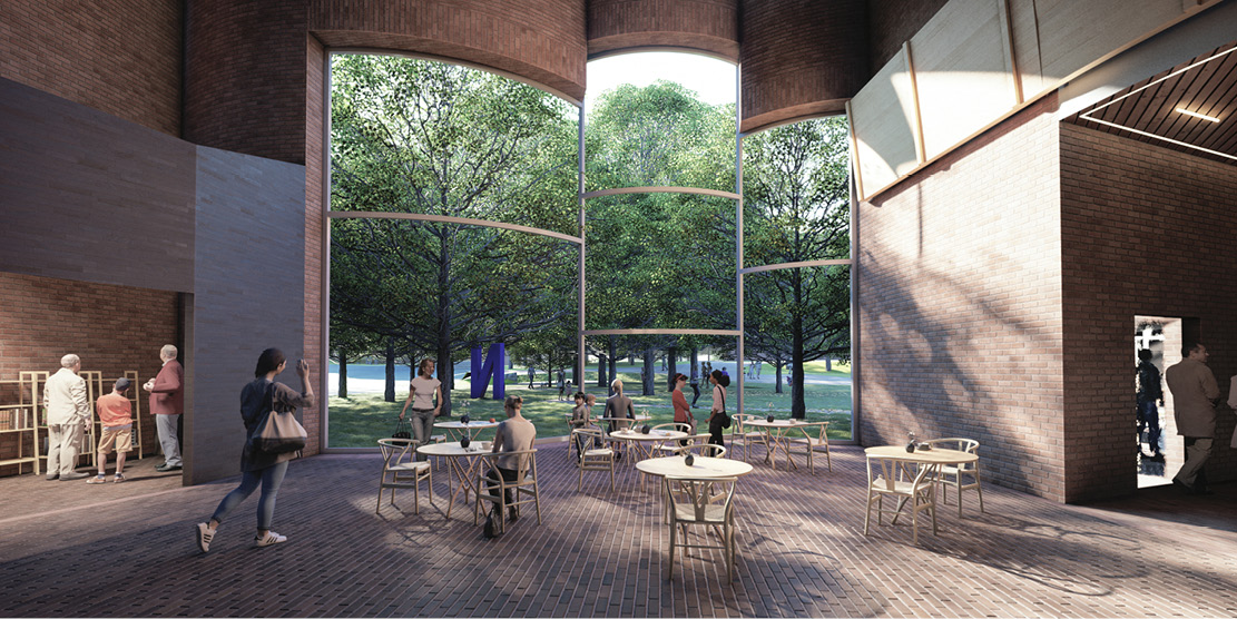 Architectural Competition for the Sara Hildén Art Museum TAMPERE FINLAND taidemuseon arkkitehtuurikilpailu OCA ARCHITECTS Hernnan Lleida Bernardo Garcia5