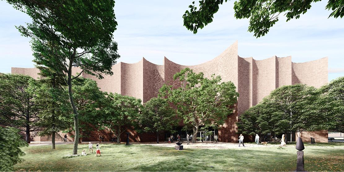 Architectural Competition for the Sara Hildén Art Museum TAMPERE FINLAND taidemuseon arkkitehtuurikilpailu OCA ARCHITECTS Hernnan Lleida Bernardo Garcia6
