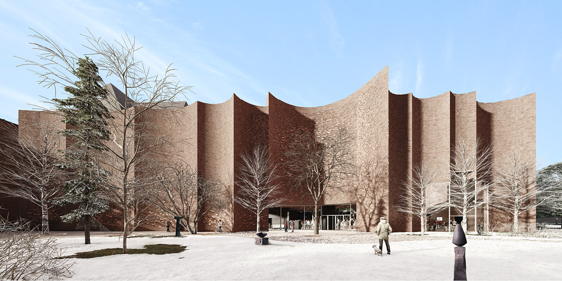 Architectural Competition for the Sara Hildén Art Museum TAMPERE FINLAND taidemuseon arkkitehtuurikilpailu OCA ARCHITECTS Hernnan Lleida Bernardo Garcia7