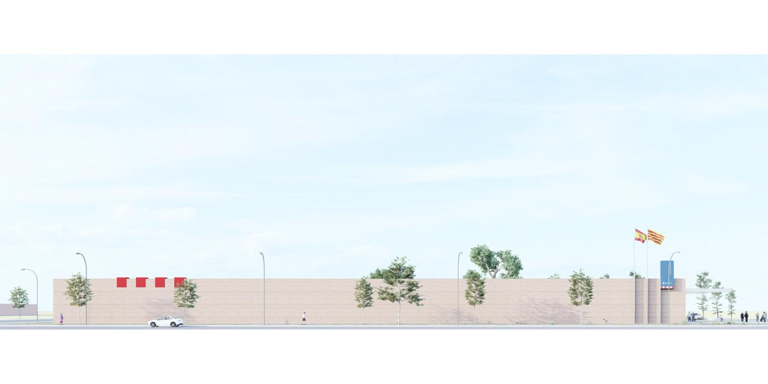 Concurs per comissaria d'Àrea Bàsica policial a Mollerussa OCA ARCHITECTS OCA Arquitectos Architecture police design Hernan Lleida Bernardo Garcia4