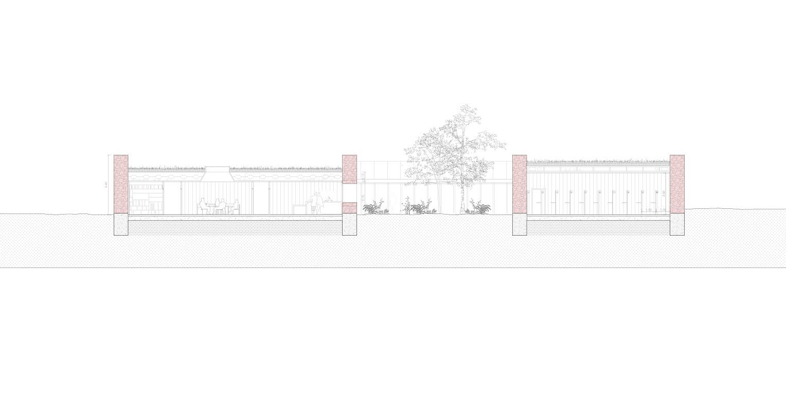 Concurs per comissaria d'Àrea Bàsica policial a Mollerussa OCA ARCHITECTS OCA Arquitectos Architecture police design Hernan Lleida Bernardo Garcia6