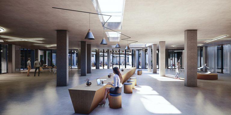 Edificio polivalente Plaza Cultura de Paracuellos OCA ARCHITECTS OCA ARQUITECTOS urban architecture landscape Hernan Lleida Bernando Garcia12