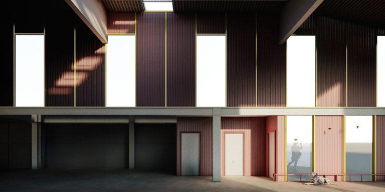 Nuevas oficinas brigada municipal de Binefar, Huesca OCA Architects Arquitectura architecture diseño interior industrial ingenieria Hernan Lleida Bernardo Garcia2