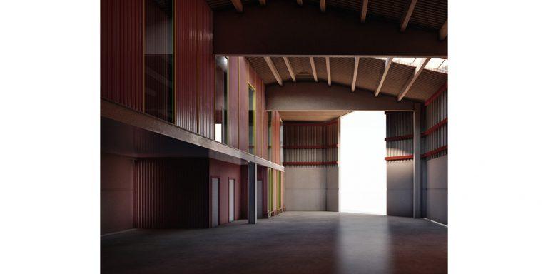 Nuevas oficinas brigada municipal de Binefar, Huesca OCA Architects Arquitectura architecture diseño interior industrial ingenieria Hernan Lleida Bernardo Garcia3