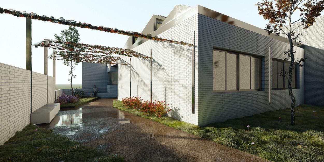 Nuevo centro formación municipal Guadalinfo en Olivares, Sevilla OCA Architects Arquitectura architecture diseño interior Hernan Lleida Bernardo Garcia
