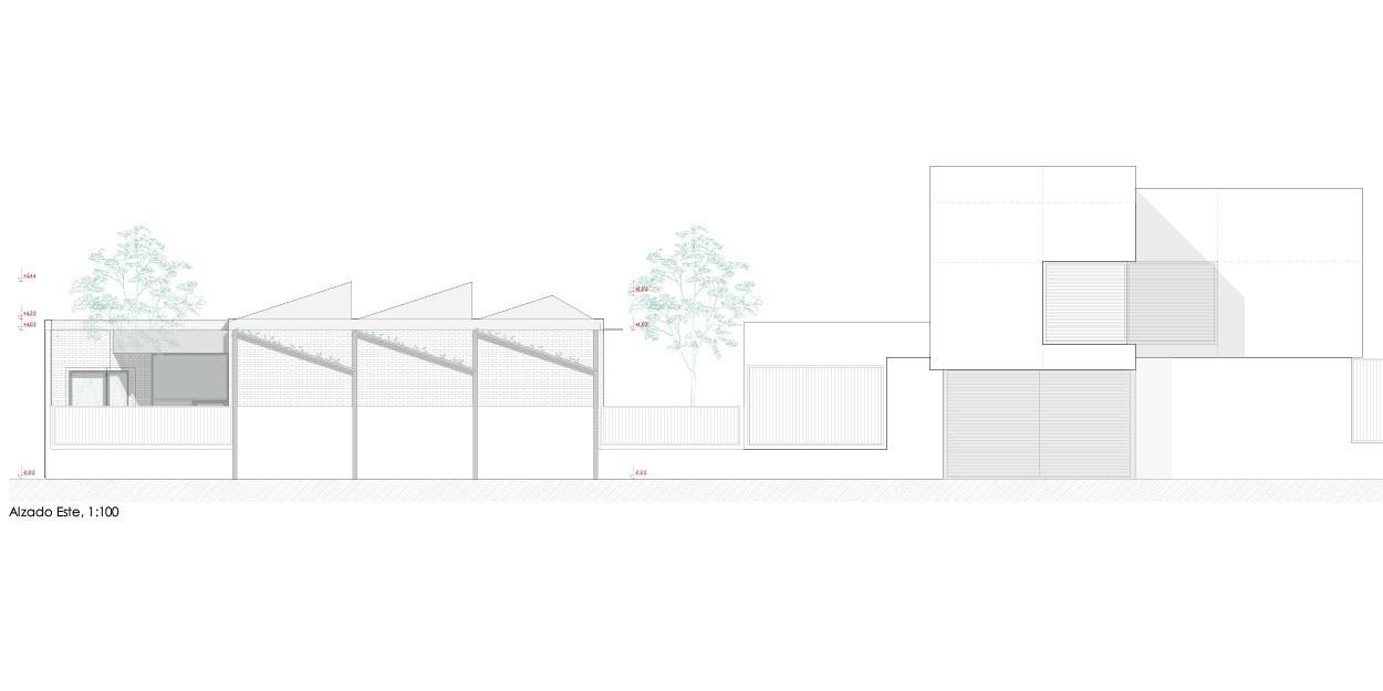 Nuevo centro formación municipal Guadalinfo en Olivares, Sevilla OCA Architects Arquitectura architecture diseño interior Hernan Lleida Bernardo Garcia5