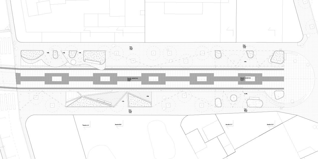 Propostes pels parterres de la Rambla Nova de Mollet del Valles, Barcelona OCA Architects Arquitectura architecture Hernan Lleida Bernardo Garcia11
