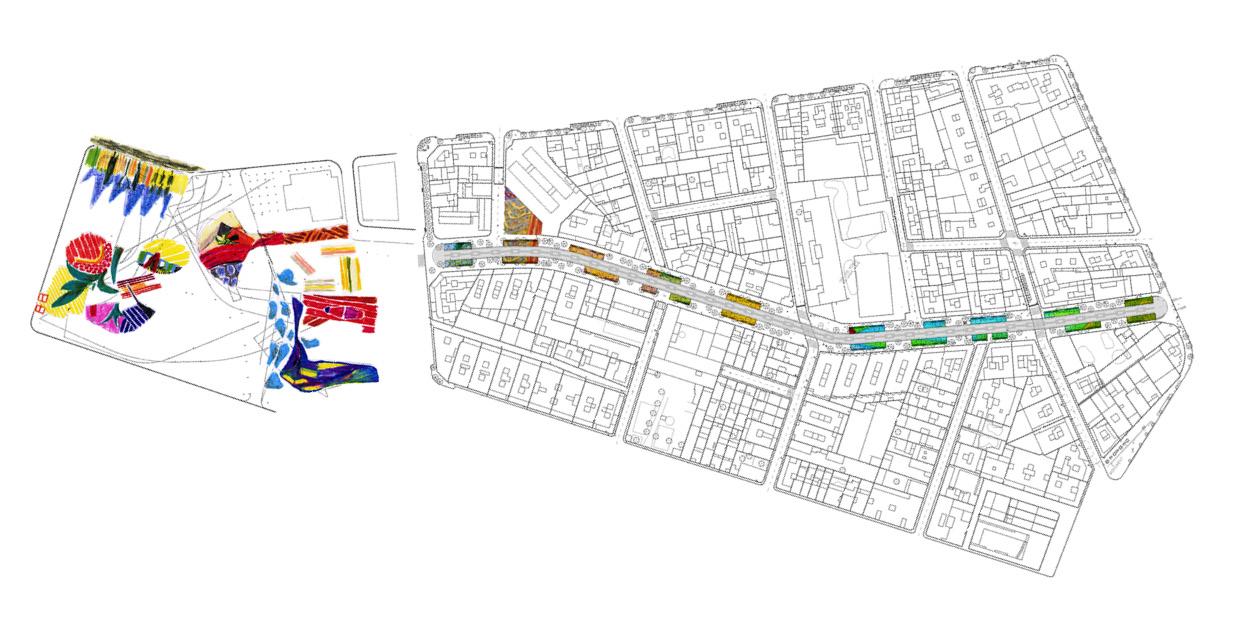 Propostes pels parterres de la Rambla Nova de Mollet del Valles, Barcelona OCA Architects Arquitectura architecture Hernan Lleida Bernardo Garcia9