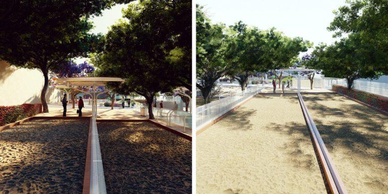 Recuperación y reforma integral del parque urbano Casa Cultural Playa de Arinaga en Argüimes, Las Palmas de Gran Canaria Hernan Lleida Bernardo Garcia4