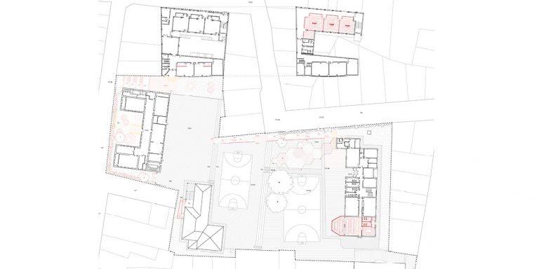 Reforma de una escuela primaria y secundaria en Quintanar del Rey, España OCA ARCHITECTS OCA arquitectos architecture design Hernan Lleida Bernardo Garcia4