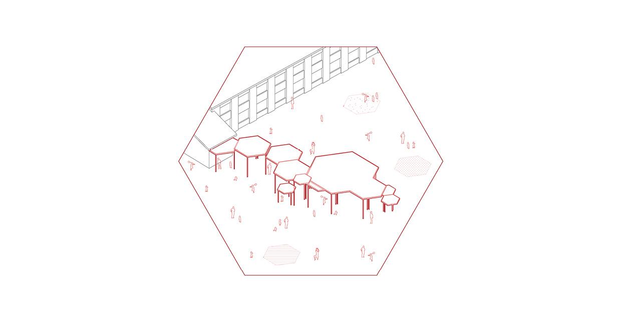 Reforma de una escuela primaria y secundaria en Quintanar del Rey, España OCA ARCHITECTS OCA arquitectos architecture design Hernan Lleida Bernardo Garcia5