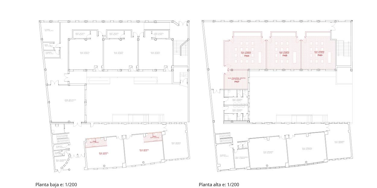 Reforma de una escuela primaria y secundaria en Quintanar del Rey, España OCA ARCHITECTS OCA arquitectos architecture design Hernan Lleida Bernardo Garcia62
