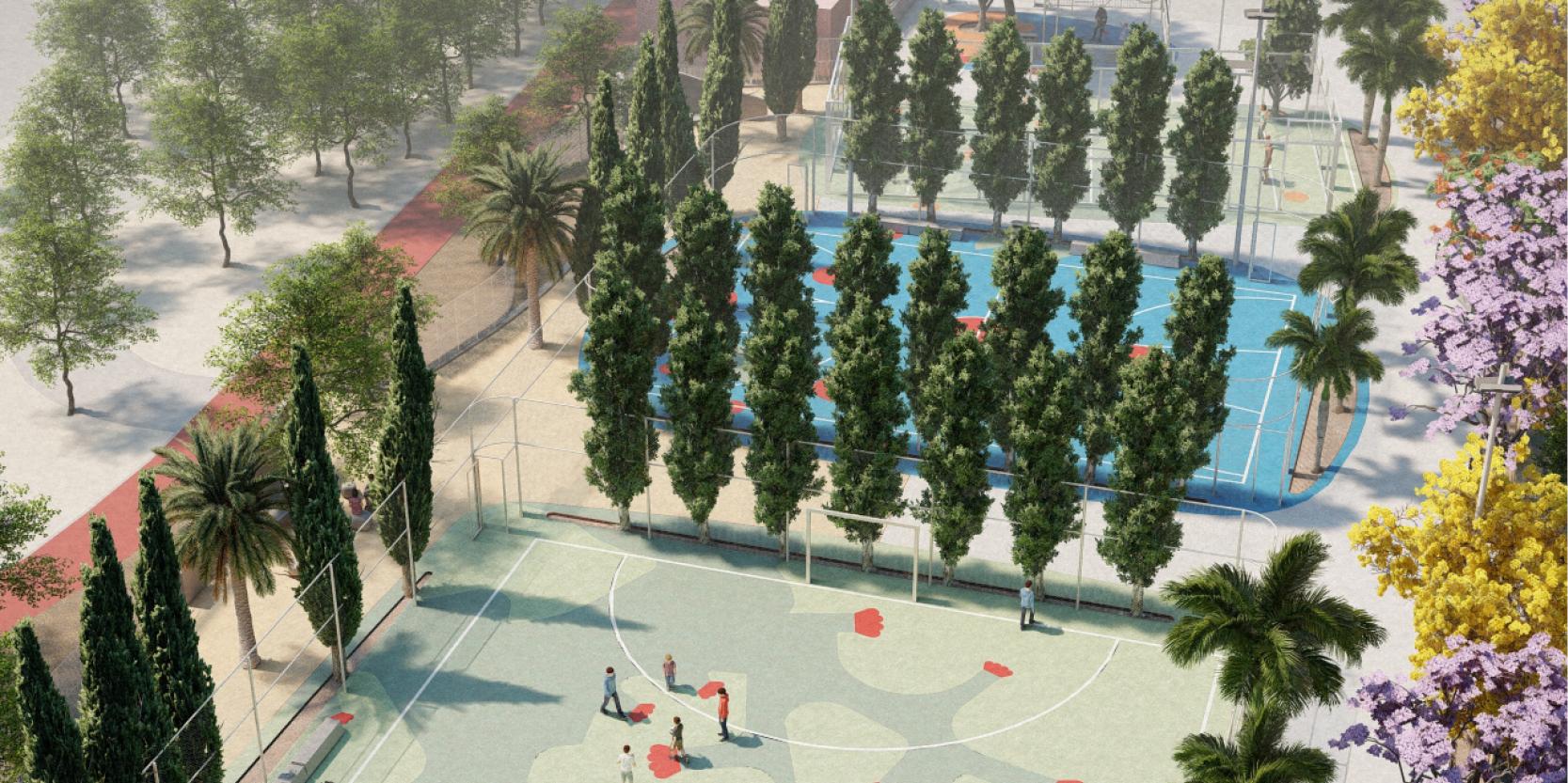 Recuperación y reforma integral de las pistas deportivas de Cruce de Arinaga en Argüimes, Las Palmas de Gran Canaria Hernan Lleida Bernardo Garcia2